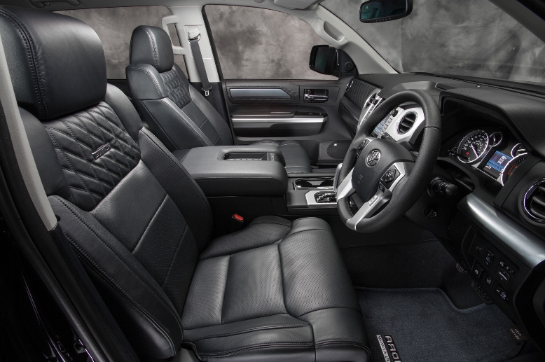 Five things to know about the interior of the Toyota Tundra